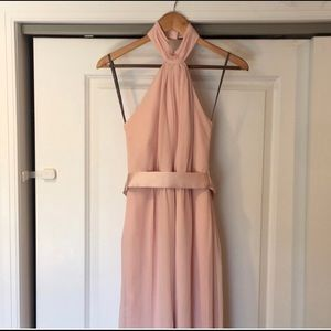 Dresses & Skirts - Vera wang white bridesmaid dress in blush